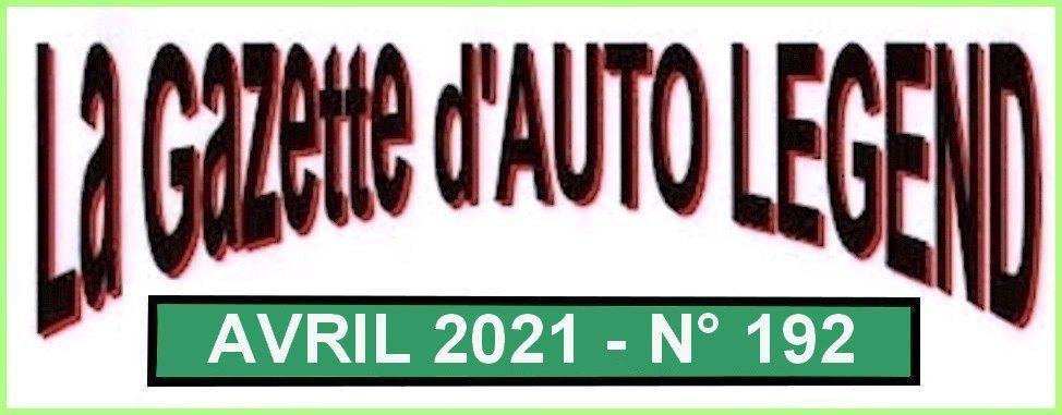 Bandeau gazette avril 2021
