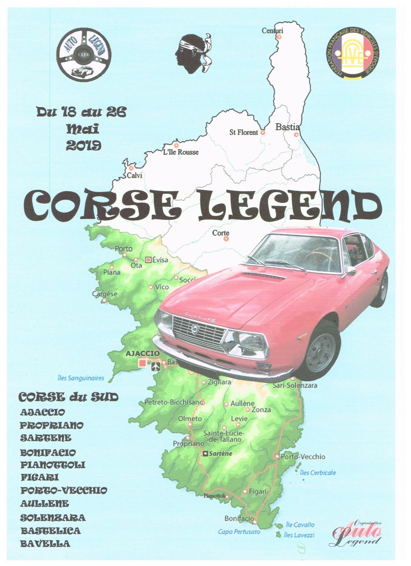 Corse 2019 affiche