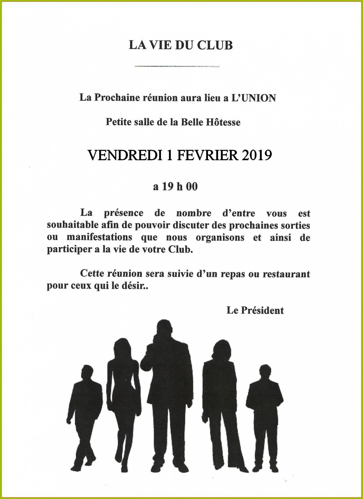 Reunion belle hotesse 02 2019