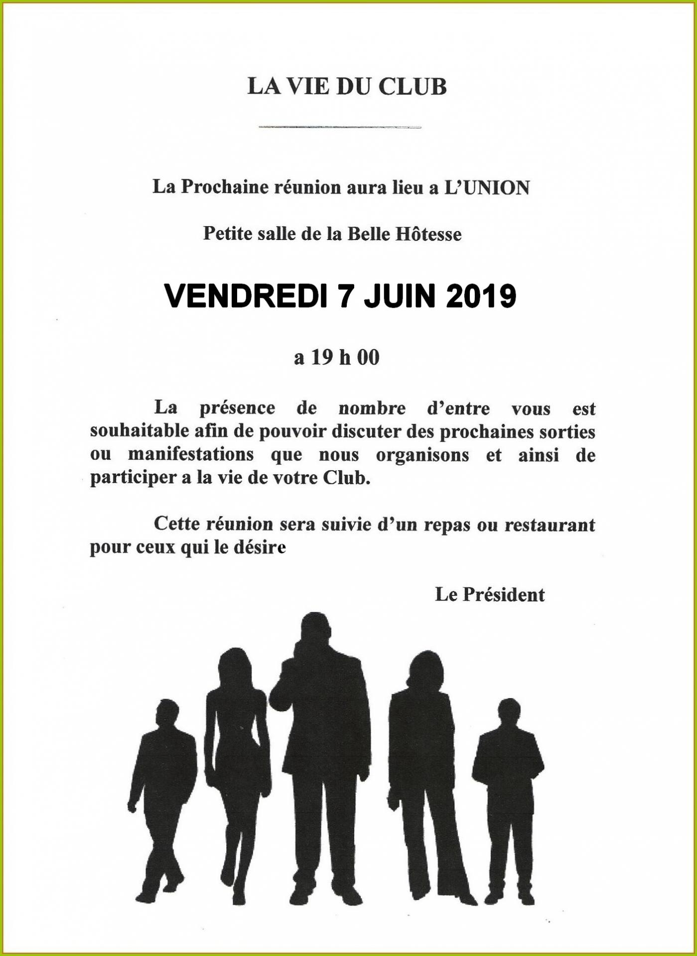 Reunion belle hotesse 03 2019